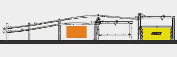 Compact Line Terminal TR5 DownStacker
