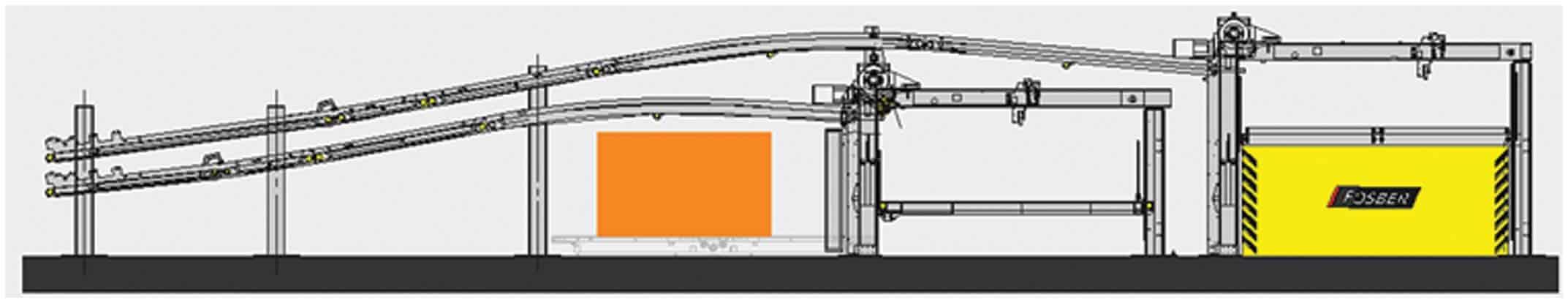 Compact Terminal TR5 DownStacker